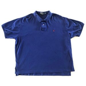 Men's Ralph Lauren Polo Shirt Blue XXL 2XL